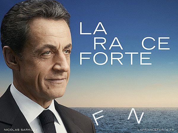 Nicolas Sarkozy - La race forte / fn