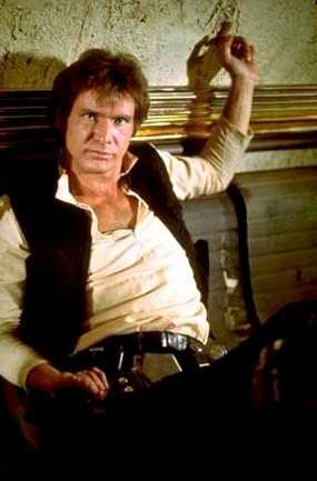 Han Solo dans la Cantina de Mos Esley